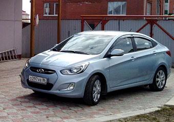 Hyundai обновил пакеты опций для седана Солярис