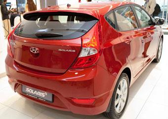 Объявлены цены на Hyundai Solaris хэтчбек