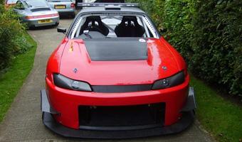 Тюнинг в гараже: Nissan S14 Silvia
