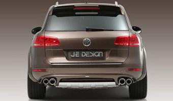 Аэродинамический обвес для VW Touareg от компании JE Design