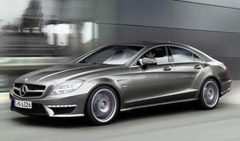 Mercedes показали новый заряженный CLS 63 AMG