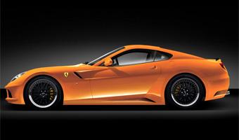 Ferrari 599 GTB примерил новый костюм
