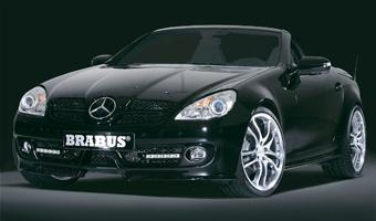 Ателье Brabus подготовило свою версию обновленного Mercedes-Benz SLK