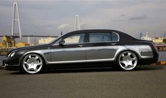 Bentley Continental GT прокачана