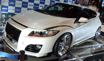 Honda CR-Z в вариации Silk Blaze