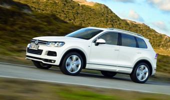 Volkswagen предлагает улучшить внешность Touareg