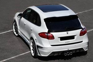 Porsche Cayenne II с новым обвесом от LUMMA Design