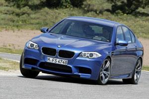 Новая 2012 BMW M5 F10 представлена официально