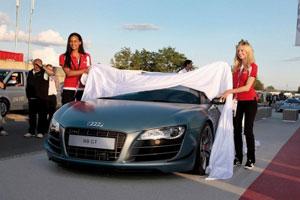 Новый Audi R8 Spyder GT представили в Ле-Мане