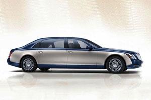 Maybach представил бронированную версию автомобиля седана 62