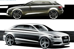 Audi показала, каким будет новое поколение автомобиля A3