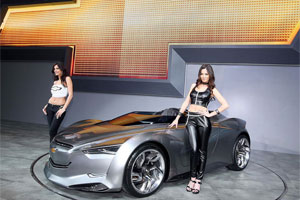 Компания Chevrolet показала в Сеуле концепт авто Mi-ray