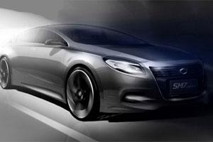 Samsung показал, как будет выглядеть новое поколение автомобиля Nissan Teana
